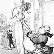 Rowlandson: Cartoon, 1810 Art Print