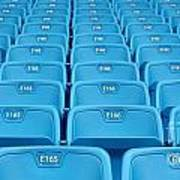Rows Of Emtpy Seats Art Print