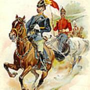 Roxbury Horse Guards 1895 Art Print