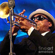 Roy Hargrove 2 Art Print by Eva Kato