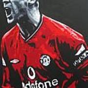 Roy Keane - Manchester United Fc Art Print