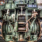 Royal Army Bulldozer Art Print by Yhun Suarez