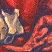 Royal Bone Bed Art Print