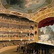 Royal Circus From Ackermanns Repository Art Print by T. & Pugin, A.C. Rowlandson