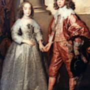 Royal Couple, 1641 Art Print