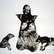 Royal Dogs Art Print
