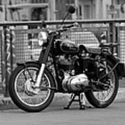 Royal Enfield Goes Berlin Art Print