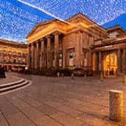 Royal Exchange Square At Borders Art Print