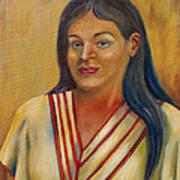 Royal Maiden Xochitl Art Print