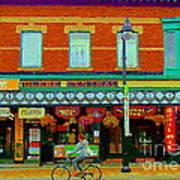 Royal Oaks British Pub Hillarys And Pc Perfect Glebe Central Paintings Of Ottawa Scenes C Spandau Art Print
