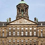 Royal Palace In Amsterdam Art Print