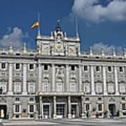 Royal Palace Of Madrid Art Print