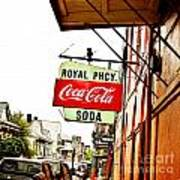 Royal Pharmacy Soda Sign Art Print