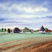 Royal Saint George's Golf Course Art Print
