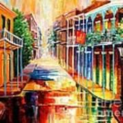 Royal Street Reflections Art Print