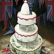Royal Wedding 2011 Cake Art Print