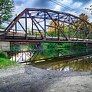 Rt 106 Bridge Art Print