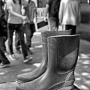 Rubber Boots Art Print