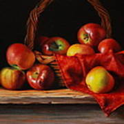 Rubens Apples Art Print