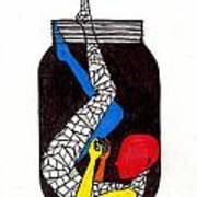 Rubix Art Print