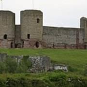 Ruddlan Castle 2 Art Print