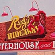 Rudy's Hideaway Art Print