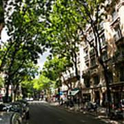 Rue Caulaincourt Montmartre Art Print