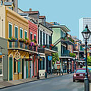 Rue Domaine New Orleans Art Print