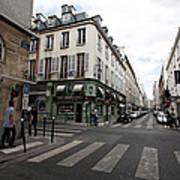 Rue Jacob Paris Art Print