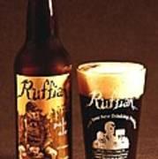 Ruffian Ale Art Print