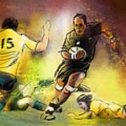 Rugby 01 Art Print