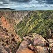Rugged Edge Of The Canyon Art Print