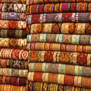 Rugs Kilims Carpets Grand Bazaar Istanbul Turkey Art Print