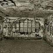 Ruined Bunker Art Print