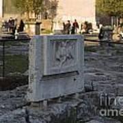 Ruins At The Roman Forum Art Print