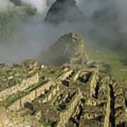 Ruins Of Machu Picchu Peru Art Print