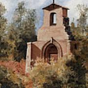 Ruins Of Morley Church Art Print by Sam Sidders