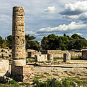 Ruins Of Paestum Art Print