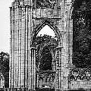 Ruins Of St. Mary's Abbey Art Print