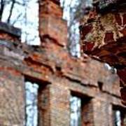 Ruins Of Sweetwater Manufacturing Company Art Print
