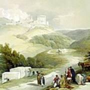 Ruins Of The Church Of St. John Sabaste 1839 Art Print