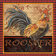 Ruler Of The Roost-1 Art Print