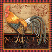 Ruler Of The Roost-4 Art Print
