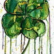 Run O' Luck Art Print