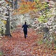 Run Through The Woods Art Print