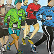 Run Art Print