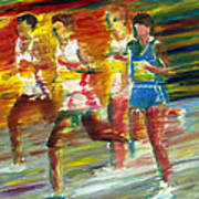 Runners Art Print