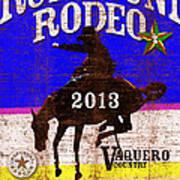 Rupununi Rodeo Art Print