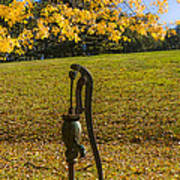 Rural Connecticut Autumn Art Print