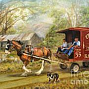 Rural Deliveries Art Print